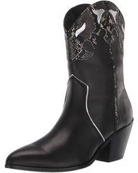 Steve Madden Howdy Boot - Black