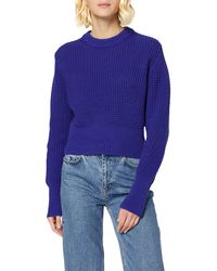 French Connection Luna Mozart Pullover Jumper - Blue