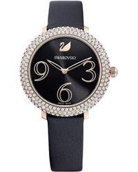 Swarovski Crystal Frost horloge 5484058 - Nero