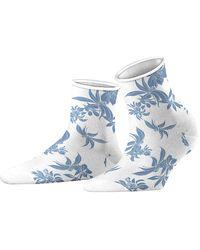 Esprit Romantic Flower Calcetines - Azul