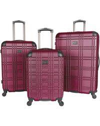 Ben Sherman Nottingham Hardside Spinner Luggage - Multicolour