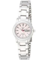 Seiko 5 Automatic Dress Watch Pink Dial - Rosa