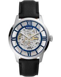Fossil Uhr Townsman - Schwarz