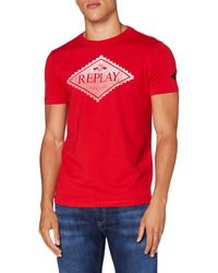 Replay M3140 .000.23046p T-Shirt - Rosso