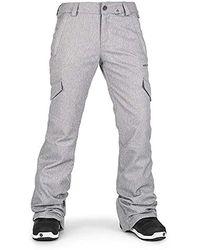 Volcom Bridger Insulated Snowpant - Gray