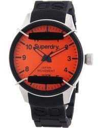 Superdry Gb42305, Wristwatch Unisex - Orange