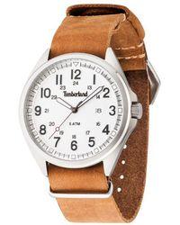 Timberland - Raynham orologio Uomo Analogico Al quarzo con cinturino in Pelle di vitello 14829JS-01-AS - Lyst