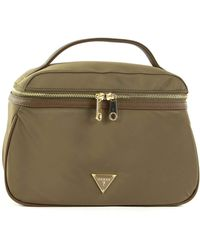 Guess Did I Say 90s? Large Beauty Bag Military - Verde