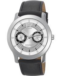 Esprit Reloj analógico para Mujer de Cuero - Metálico
