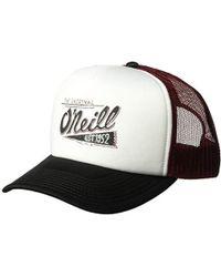 O'neill Sportswear Yardsale Trucker Hat - Red