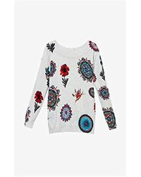 Desigual - Jers_bantry Pullover Sweater - Lyst