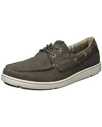 f89285f73db29 Timberland Classic 2 Eye Boat Shoes in Blue for Men - Lyst