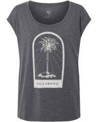 Billabong Dames T Shirt All Night Tee SS Black XS - Nero