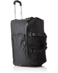 Guess Dan Wheeled Duffle Bag - Black