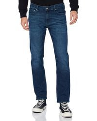 Calvin Klein Ckj 035 Straight Jeans - Blue