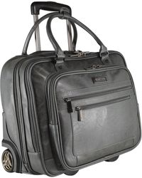 Kenneth Cole Reaction Wheeled Carry-on Tote - Gray