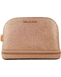 Michael Kors Make Up Bag Cosmetic Case Travel Pouch Large - Multicolour