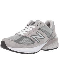 New Balance Made In Us 990v5 Trainer - Grey