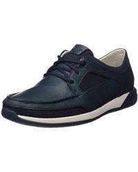 Piel Color Zapatos Tommy Hombre Azul Náuticos De Knot Hilfiger rsQhdtCx