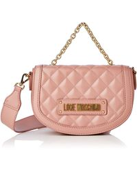 Love Moschino Quilted Nappa Pu - Rose