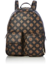 Guess UTILITY VIBE BACKPACK - Marron