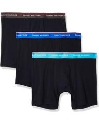 Tommy Hilfiger 3p WB Boxer Brief sous-vêtement - Bleu