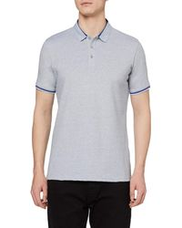 HIKARO Polo pour s ches Courtes Polo T-Shirts Respirant Business Tops de Tennis Golf pour s Floral Grey - Gris