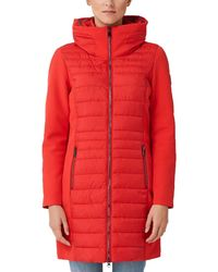 S.oliver RED Label Steppmantel mit Softshell-Details red 42 - Rot