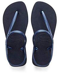 Havaianas Flash Urban Flip Flop Sandals - Blue