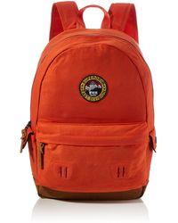 Superdry Waxed Canvas Montana Backpack - Orange