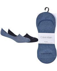 Calvin Klein CK Liner 2P Sparkle Stripe Alice Calzini - Blu