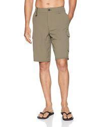 O'neill Sportswear 21 Inch Outseam Cargo Pocket Hybrid Stretch Walk Short - Natural