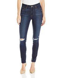 PAIGE - Hoxton Ankle Jeans-aveline Destructed - Lyst