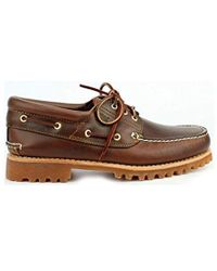 LugChaussures 3 Trad Basses Homme Hs Eye Marron nmywvN80O
