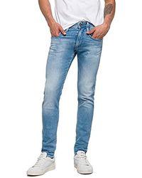new styles 0a526 fc201 Anbass Jeans Slim Uomo - Blu