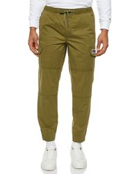 Tommy Hilfiger Tommy_Jeans Tjm Tapered Cuffed Cargo Pant Sporthose - Grün