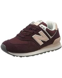 New Balance 574v2, Zapatillas para Mujer - Rojo