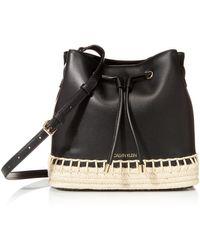 Calvin Klein Gabrianna Bucket Bag - Black