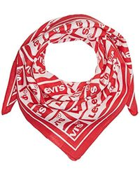 764278763f7 Levi s Paisley Bandana Shawl in Red for Men - Lyst