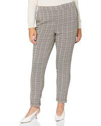 Vero Moda VMMAYA MR Loose Coco Check Pant Noos Pantaloni - Grigio