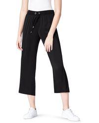 FIND Wide Leg Pantalon - Noir