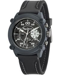 Pepe Jeans - Charlie Quartz Watch With Gold Dial Analogue Display And Gold Stainless Steel Strap R2353105502 - Lyst