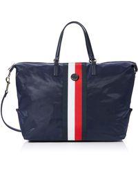 Tommy Hilfiger Poppy Weekender Corp 's Cross-body Bag - Blue