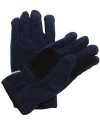 Regatta Thinsulate Fleece Gloves - Blue