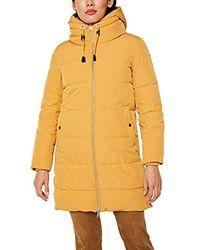Esprit Abrigo para Mujer - Amarillo