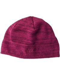 Jack Wolfskin Aquila Fleece Beanie Hat - Multicolour