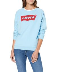 Levi's Relaxed Graphic Sudadera - Azul