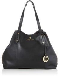 Eve, Shoppers y bolsos de hombro Mujer, Negro
