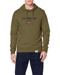 Napapijri Boys K Bonthe C Blu Marine Sweatshirt