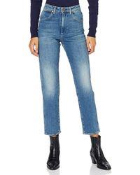 Wrangler Mom Jeans - Blu